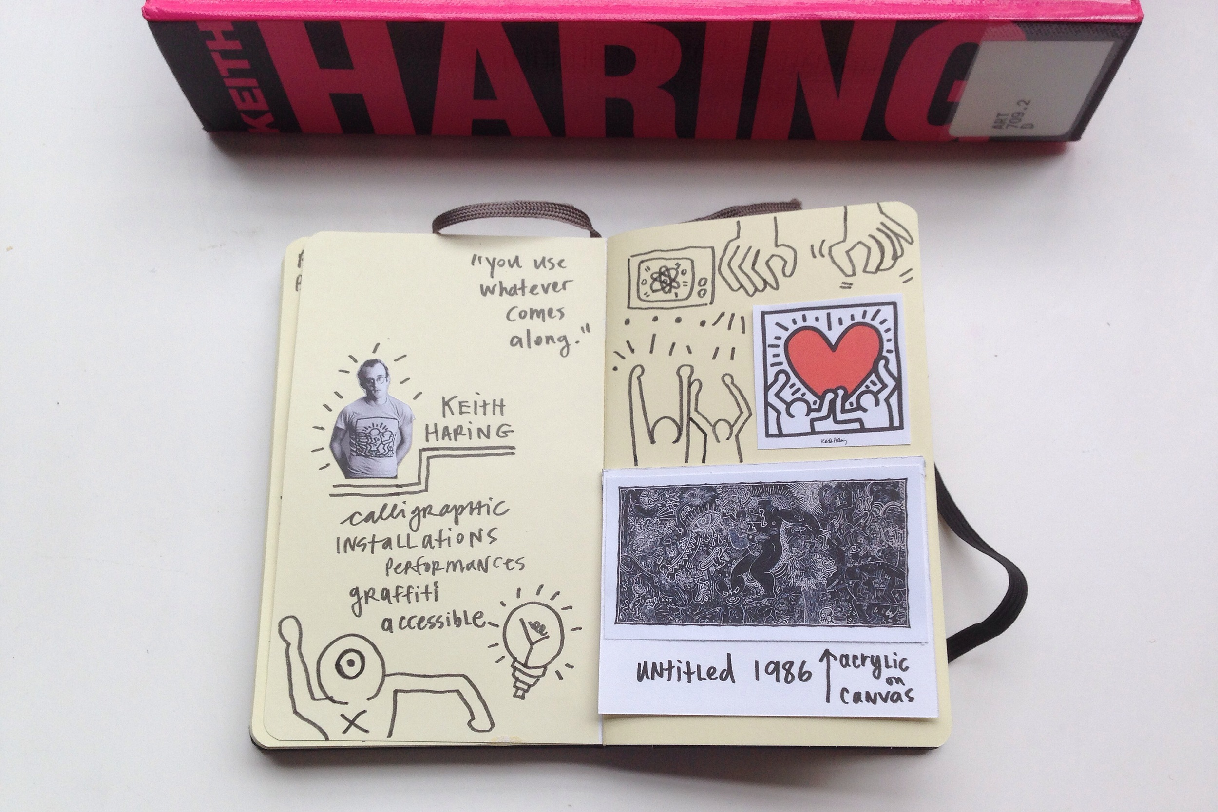 keith haring | year of creative habits