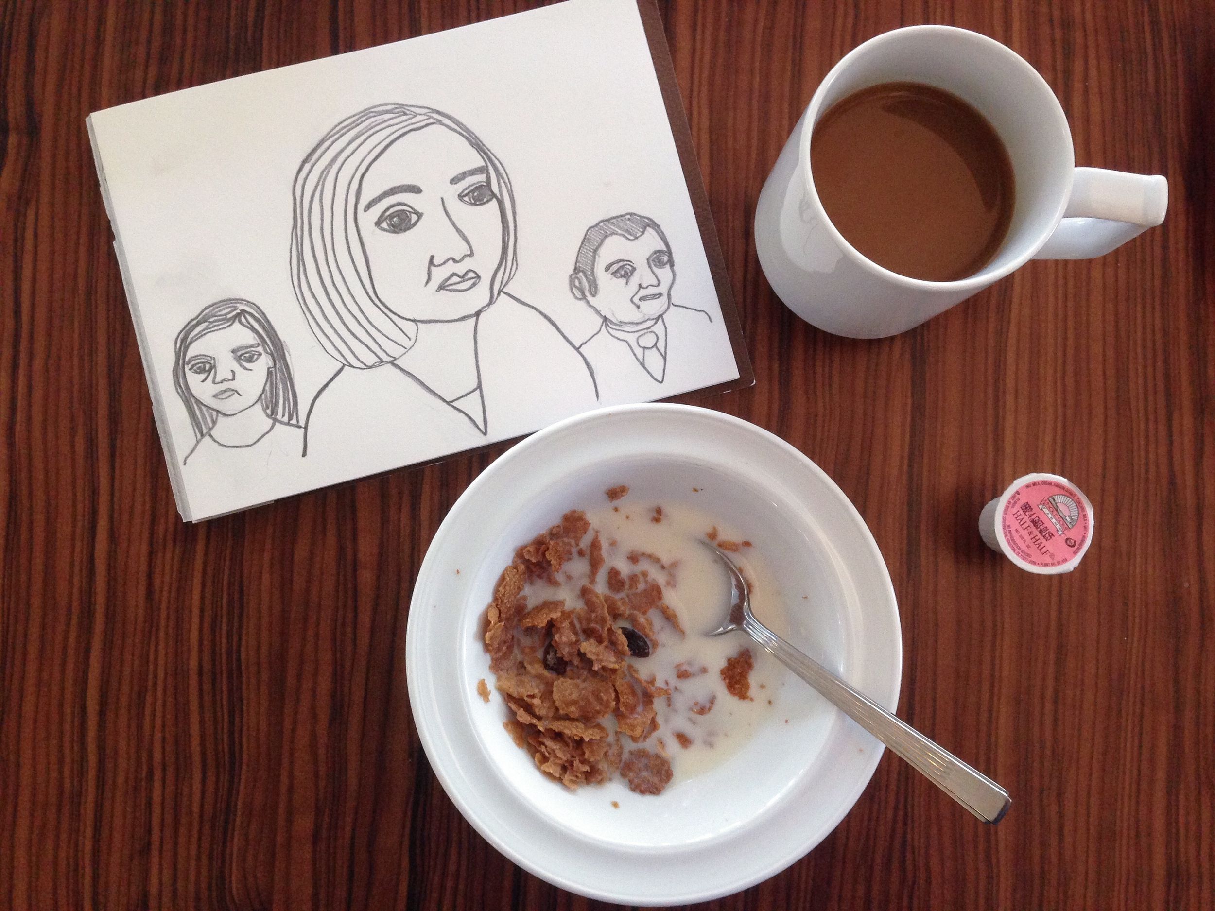 hotel breakfast | year of creative habits