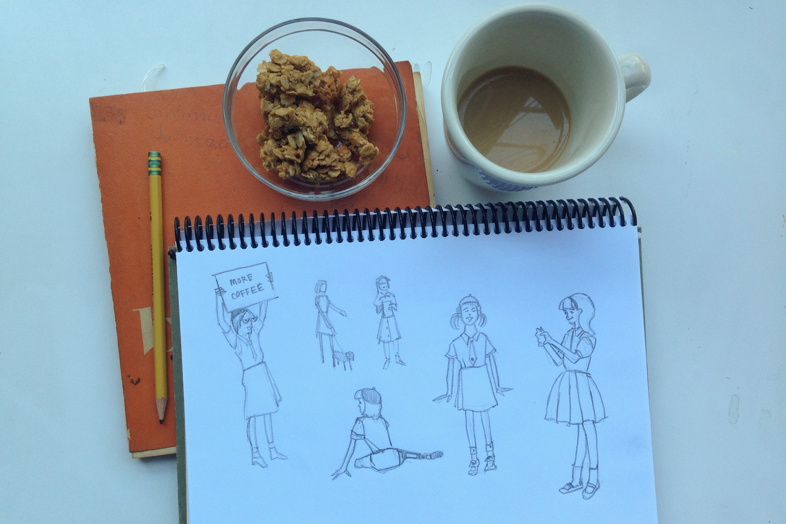 girls | year of creative habits