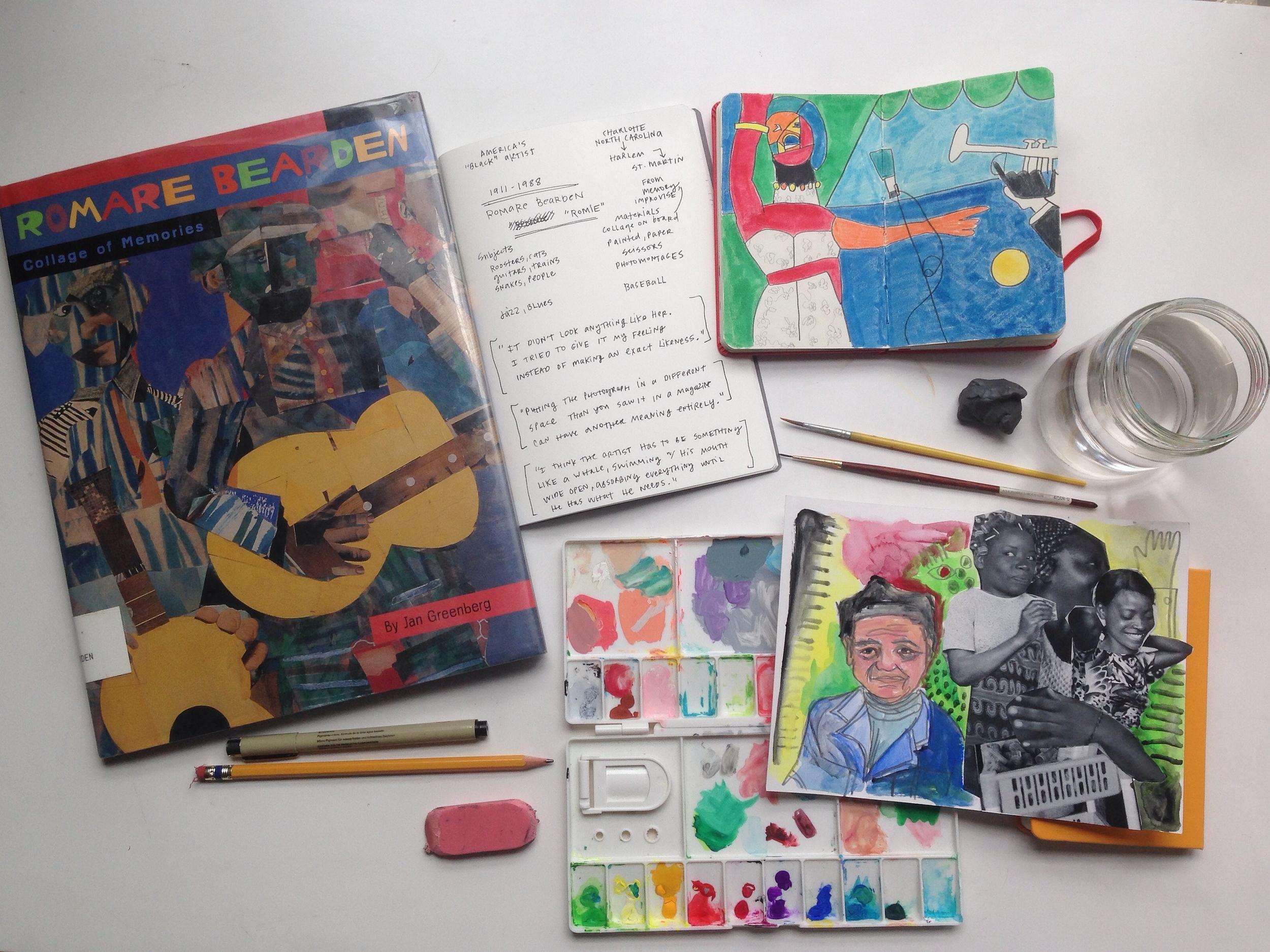 Romare Bearden | year of creative habits