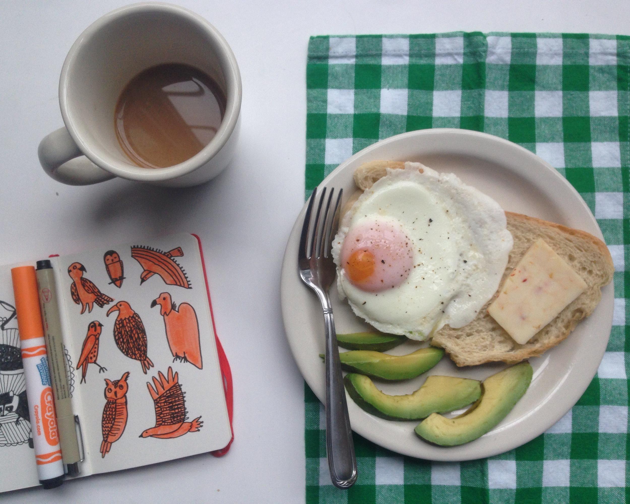 birds + egg | year of creative habits