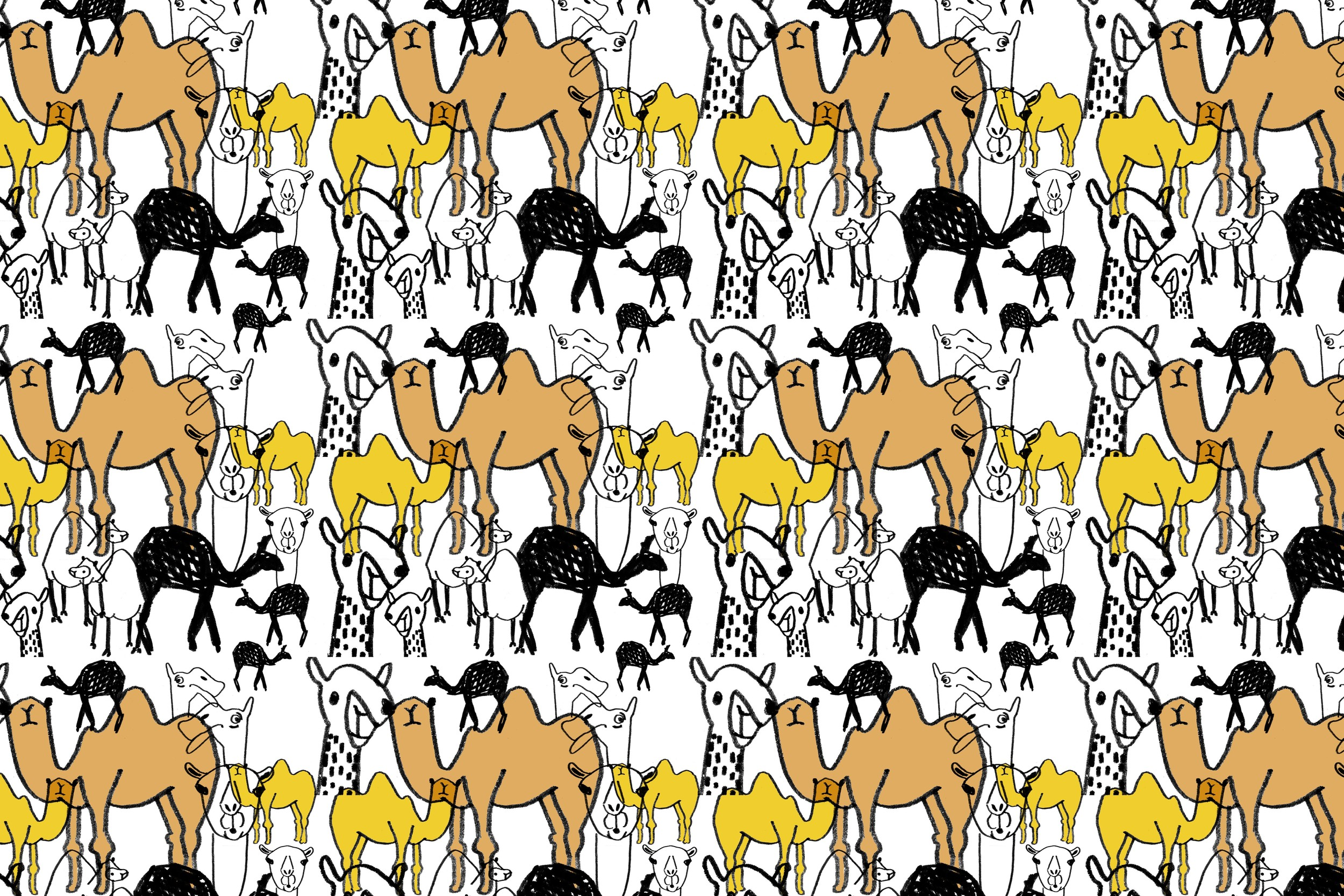 camel pattern| year of creative habits