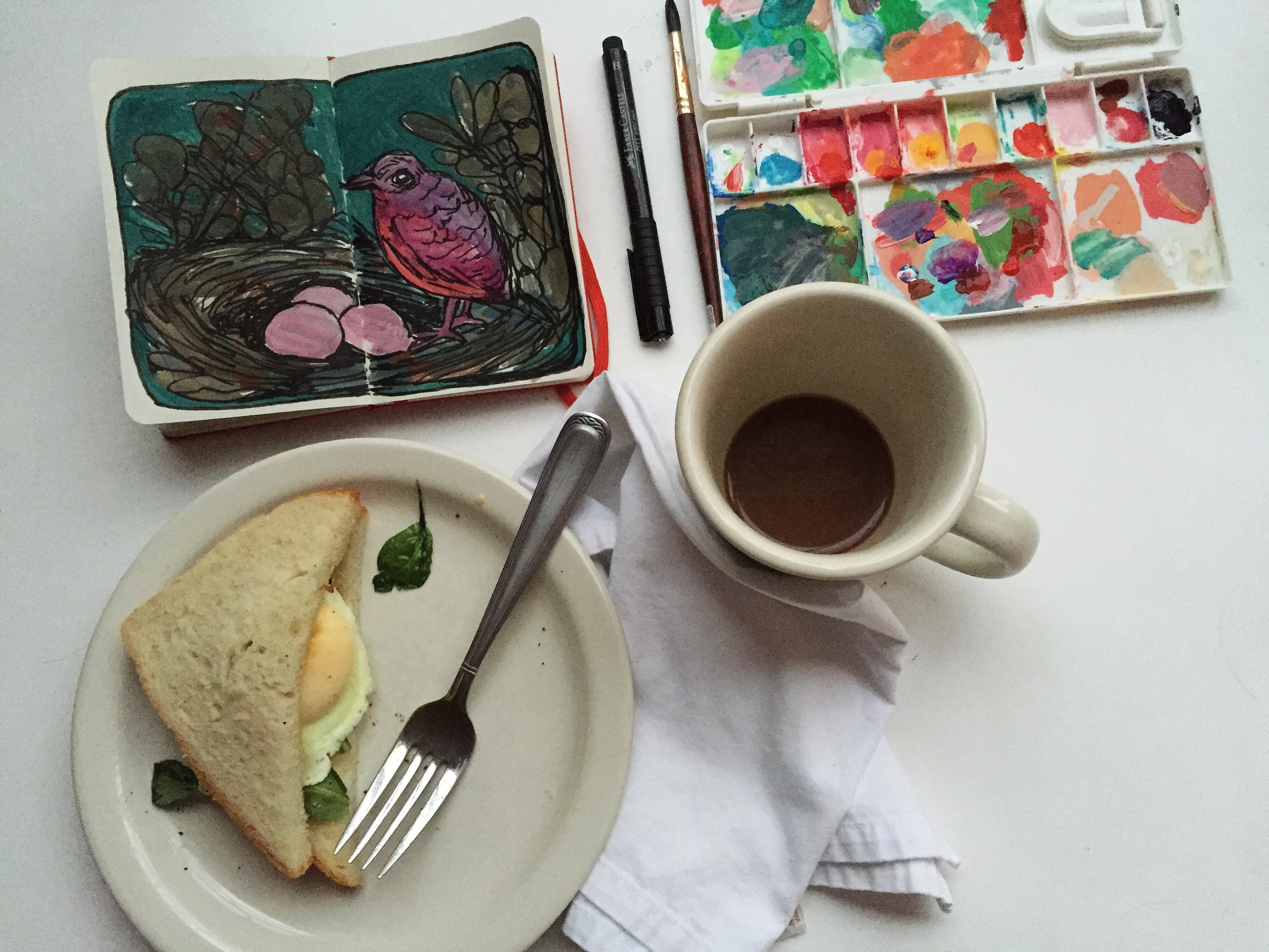 dark | year of creative habits