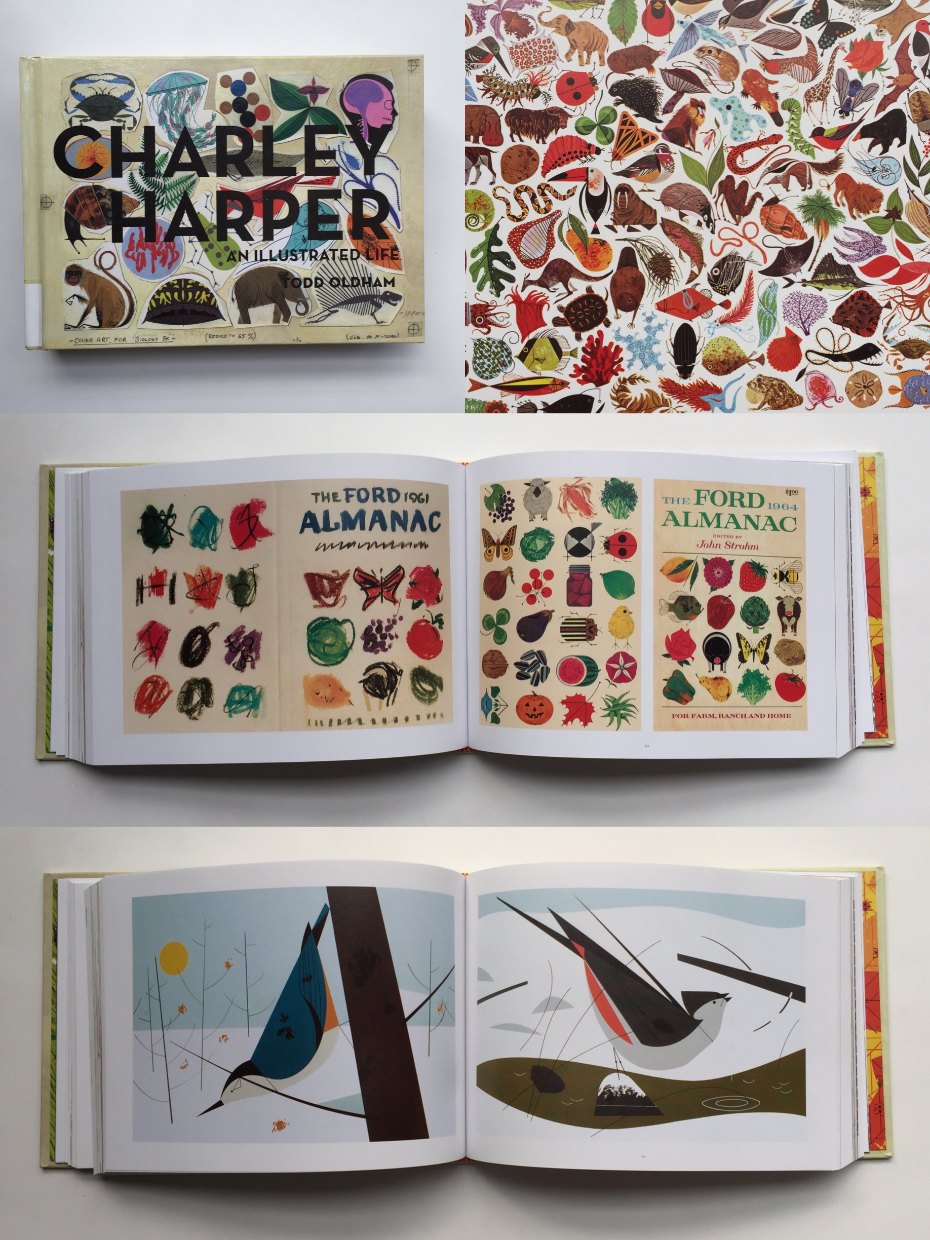 charley harper | year of creative habits