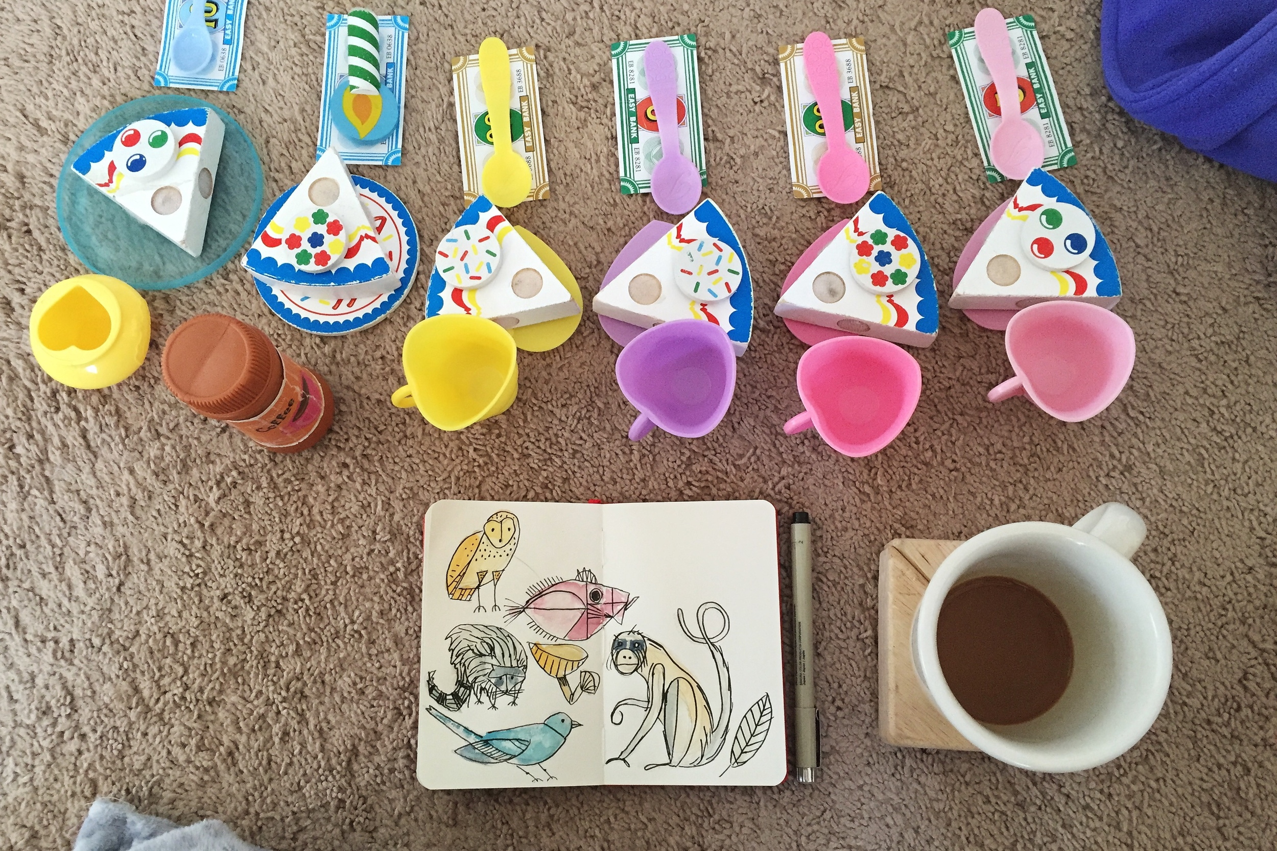tea party | year of creative habits