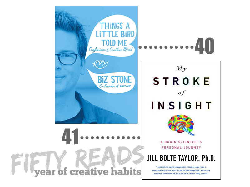 fifty reads | year of creative habits