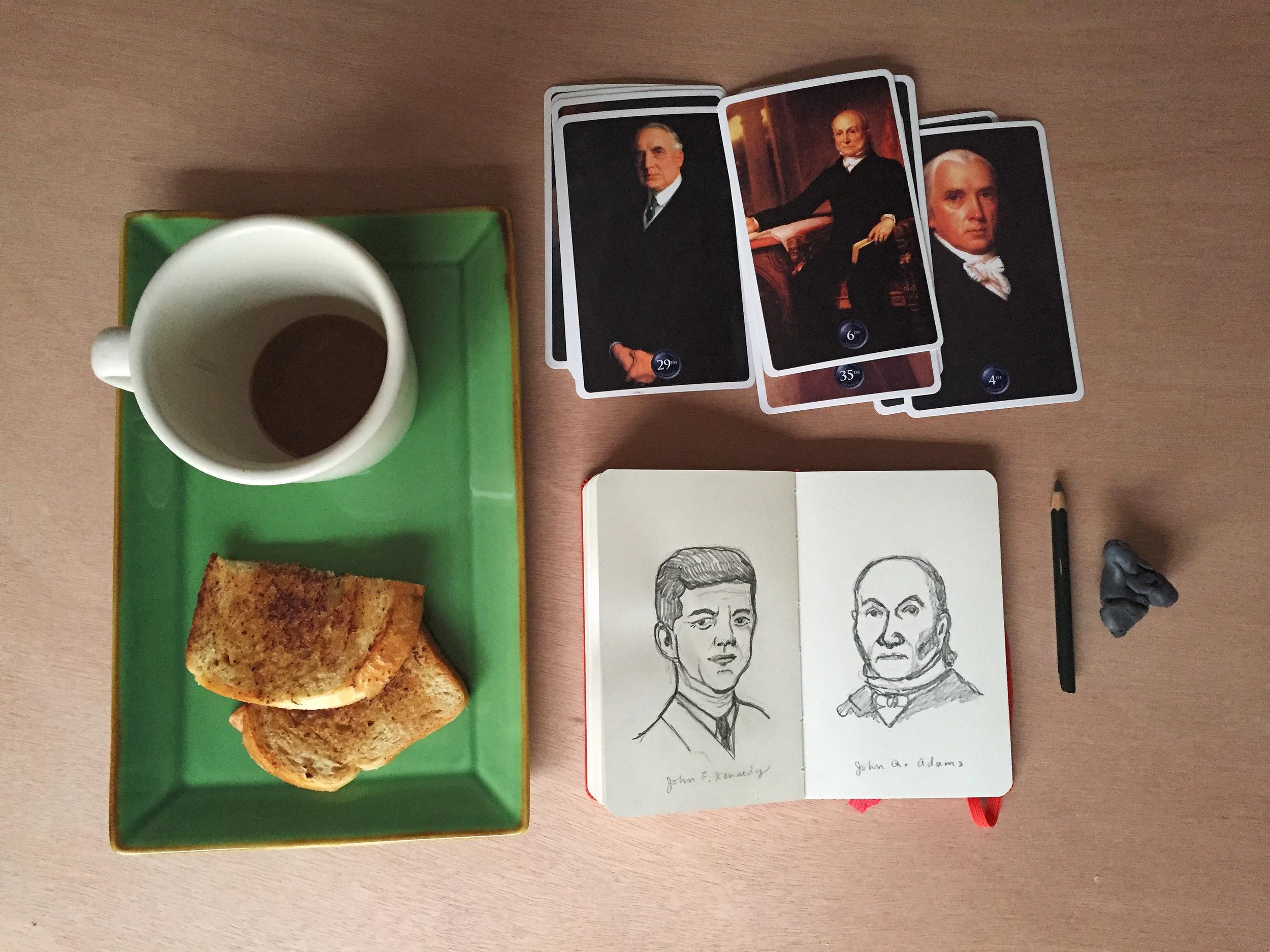 kennedy + JQA | year of creative habits