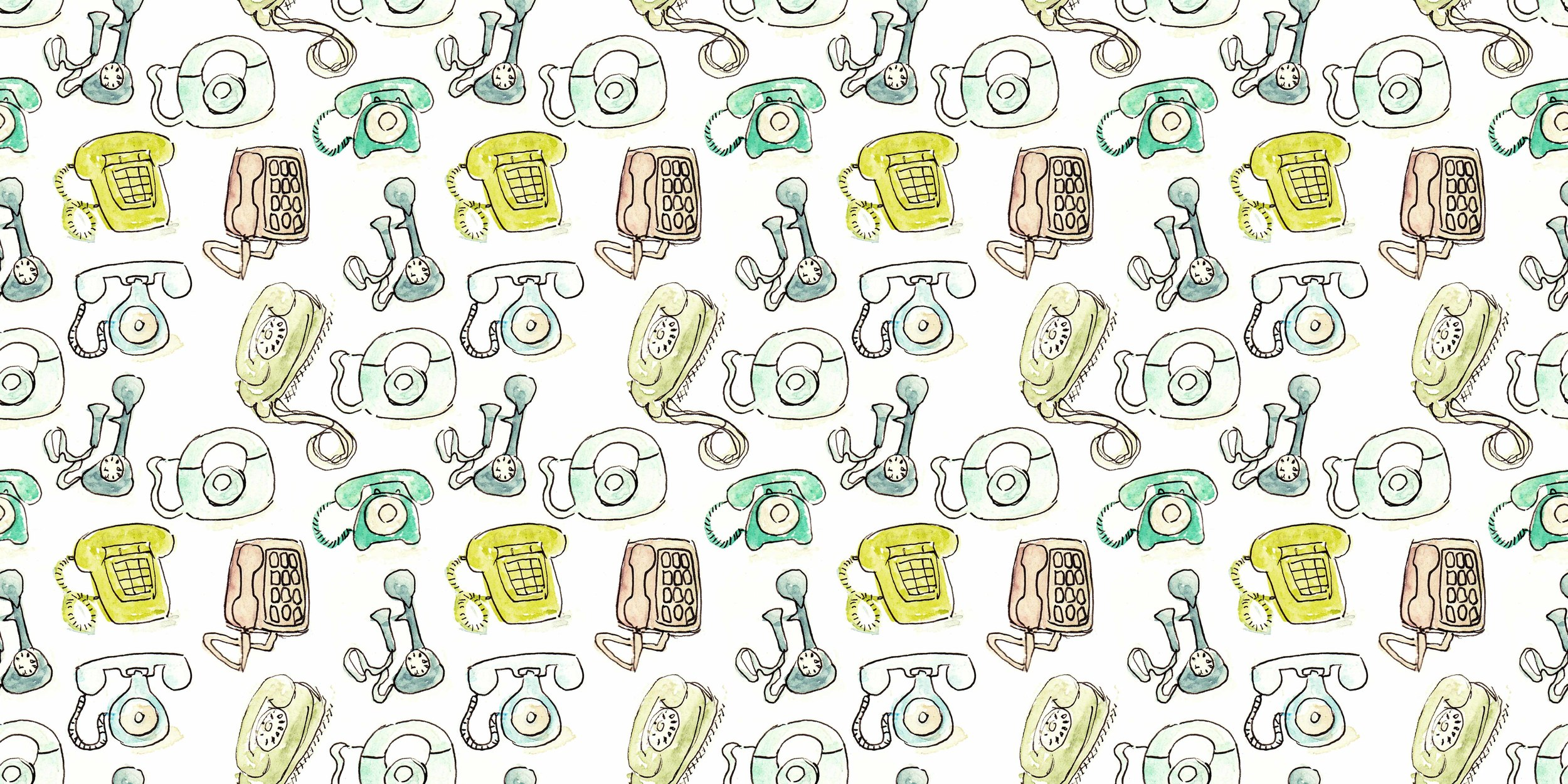 phone pattern | year of creative habits