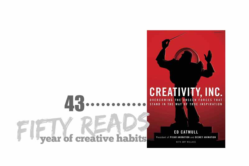 read #43 | year of creative habits
