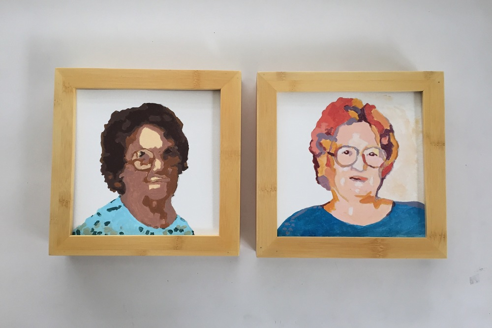 framed ladies | year of creative habits