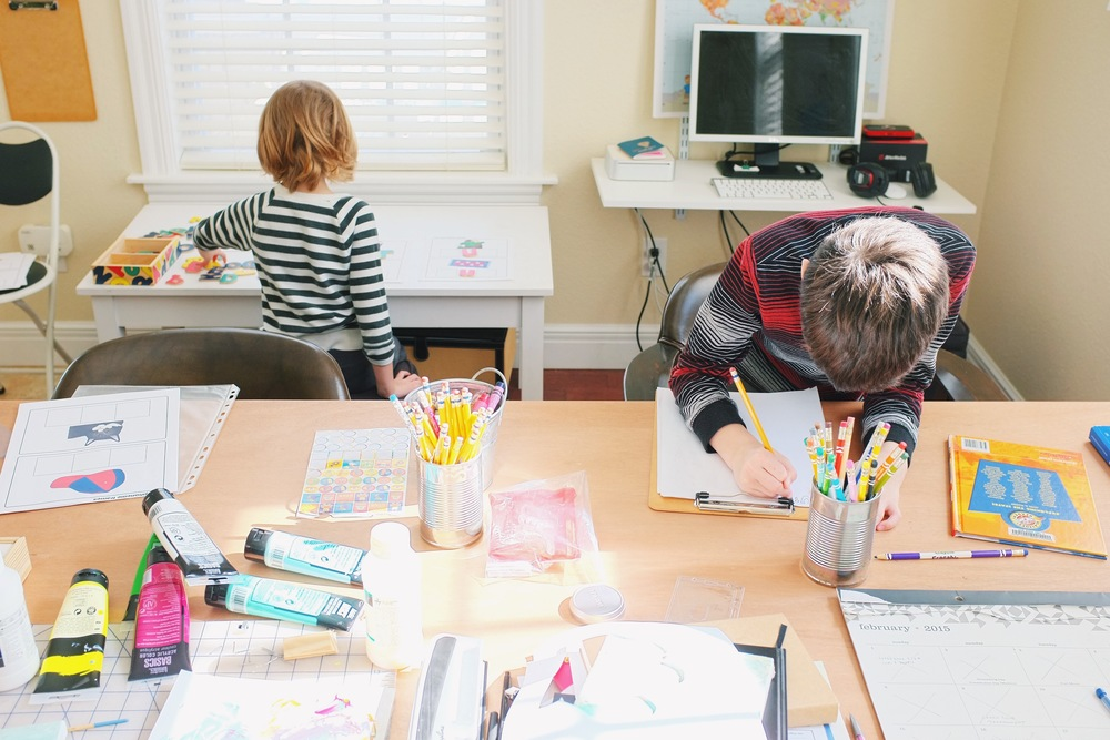 homeschool | year of creative habits