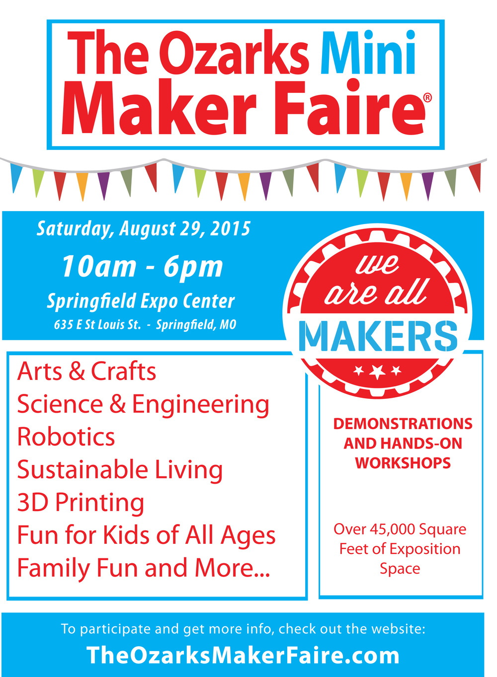 Ozarks Mini Maker Faire | Springfield MO