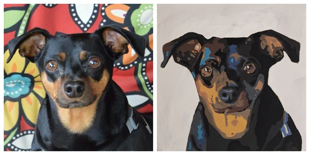 custom pet portrait | crystal moody