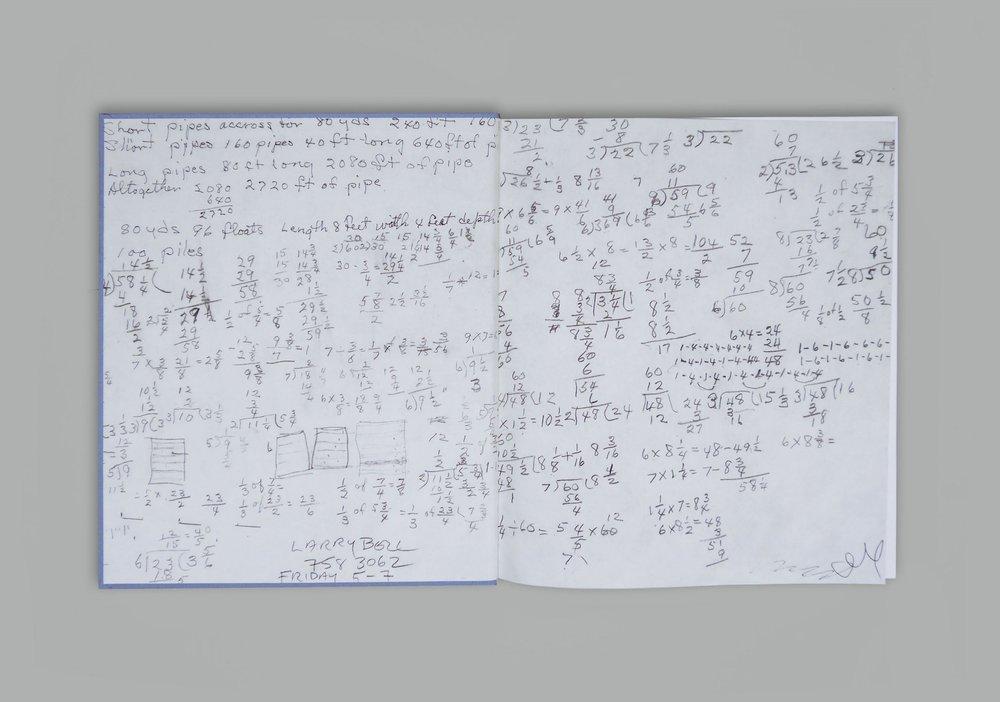 her notebook