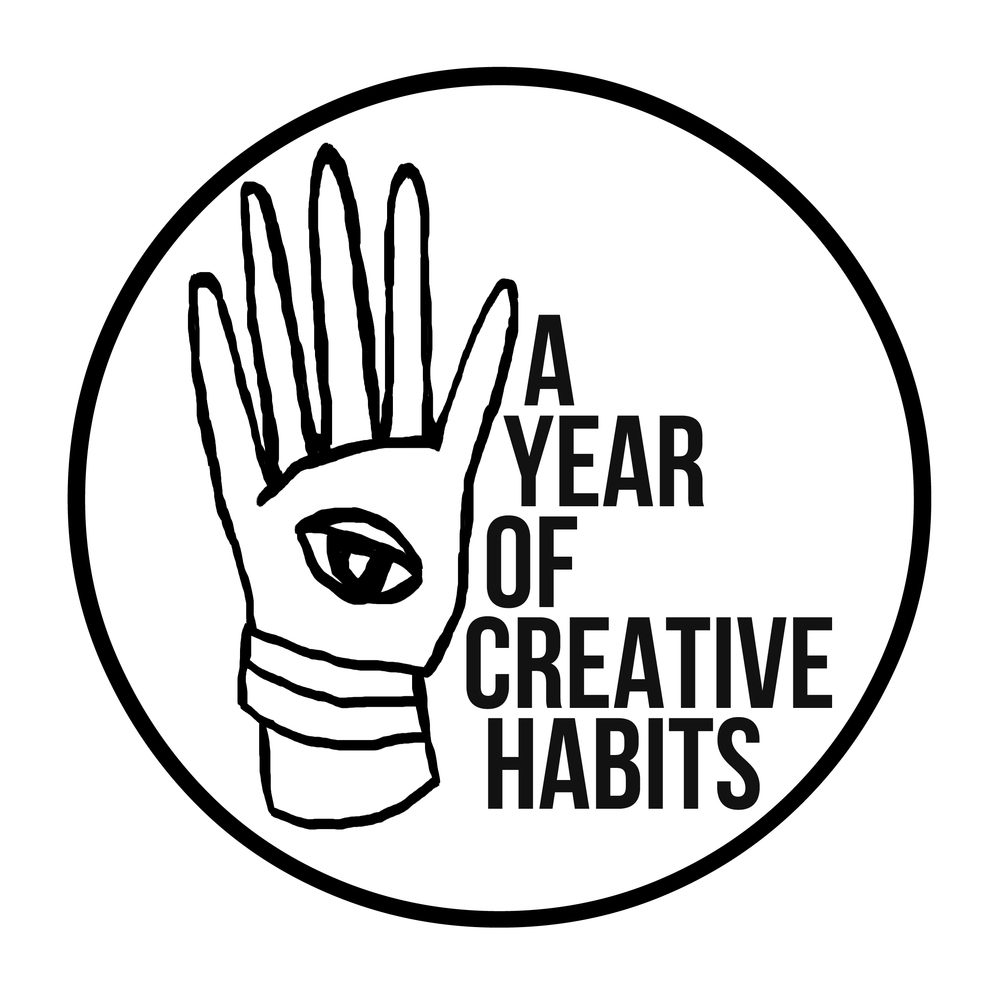 a year of creative habits