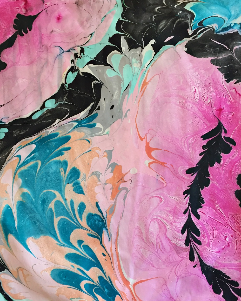 crystal moody | marbling workshop