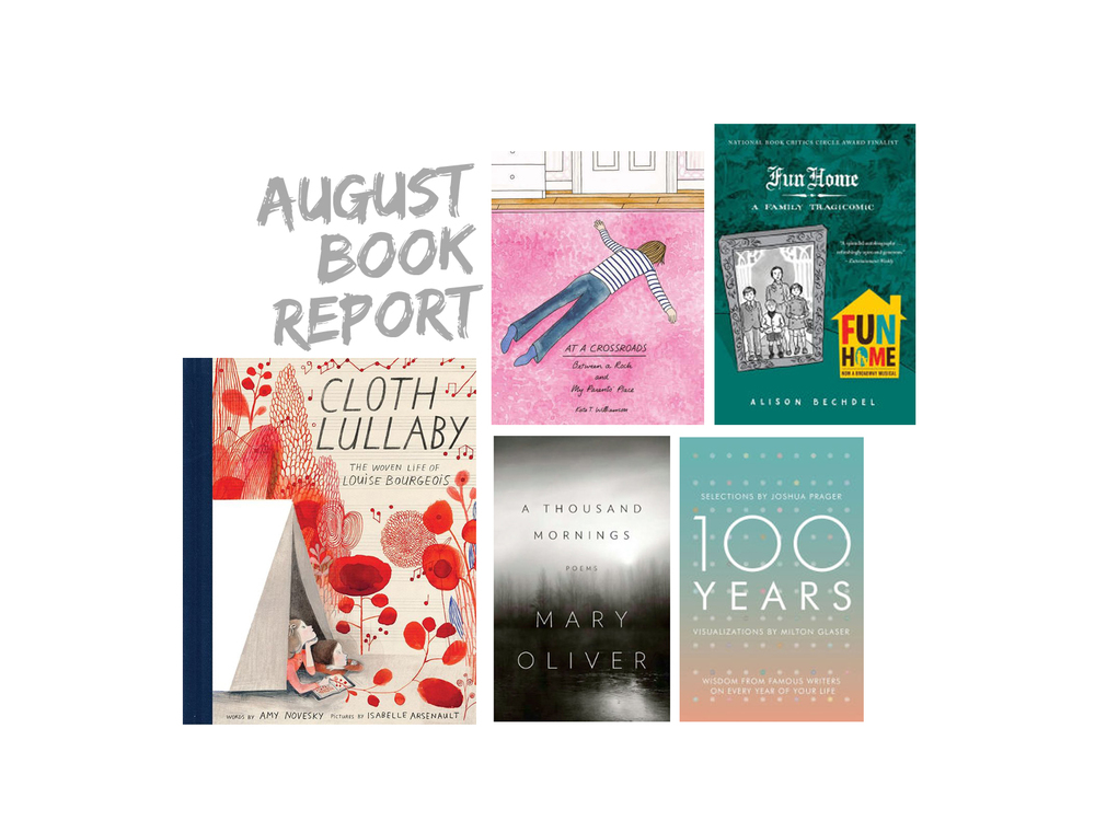 crystal moody | august book report