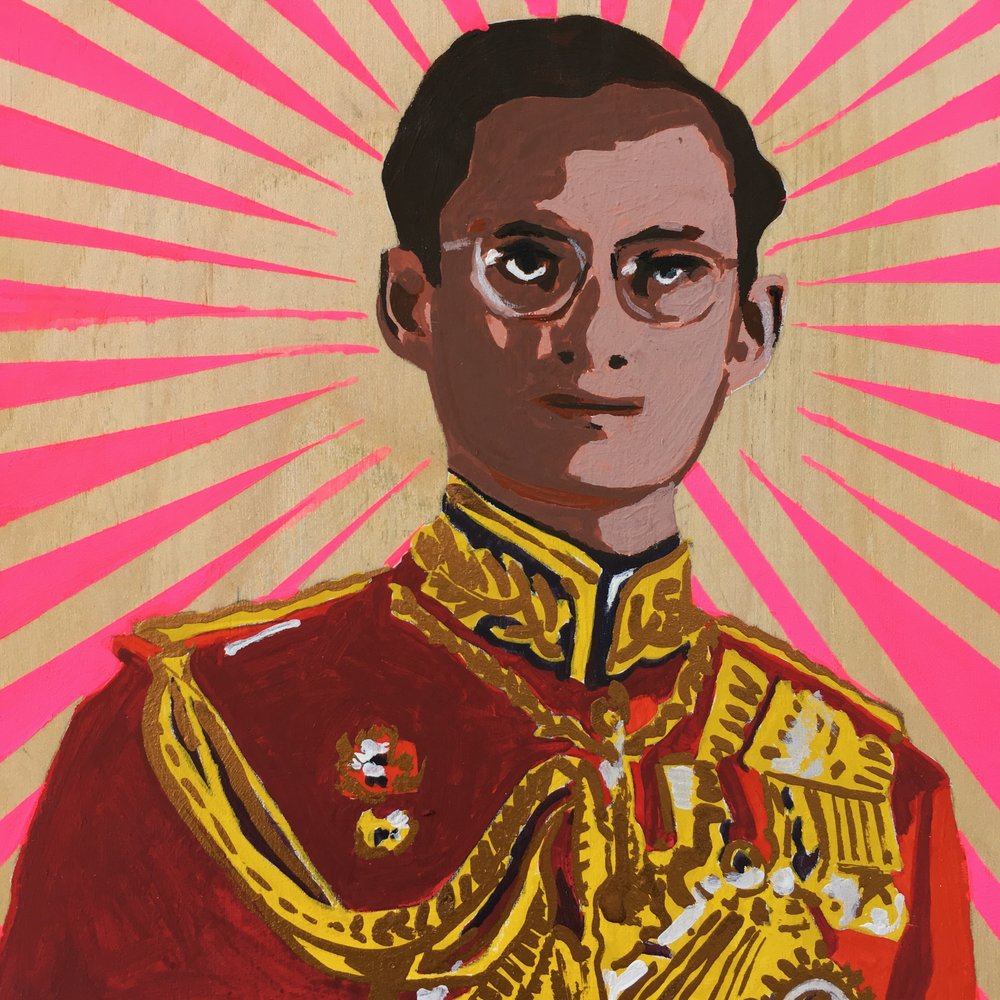 crystal moody | monday mourning Thai King Bhumibol Adulyadej