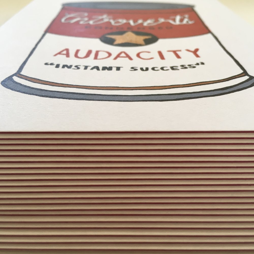 crystal moody | audacity can postcard
