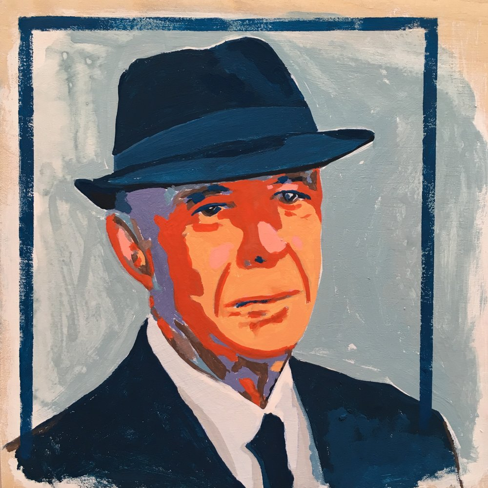 Monday Mournings series: Leonard Cohen | crystal moody