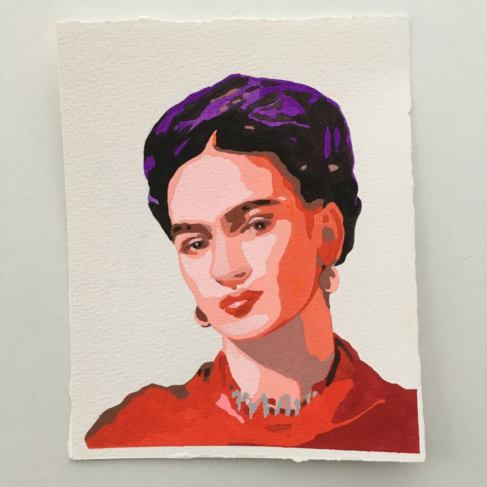 crystal moody | Frida Kahlo #deadartistssociety