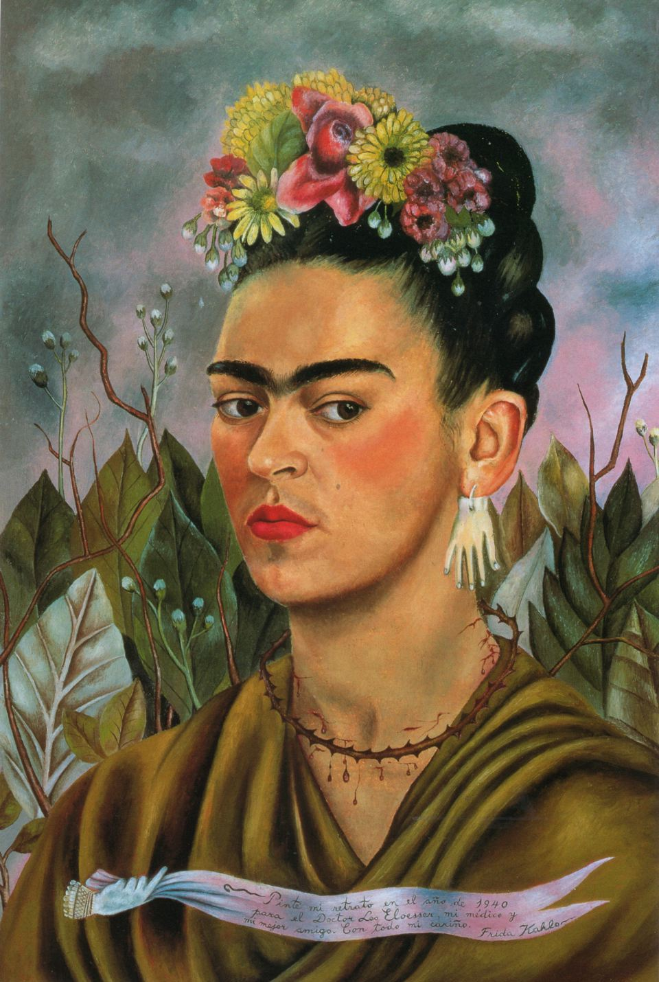 Frida Kahlo | earrings given to her by Picasso