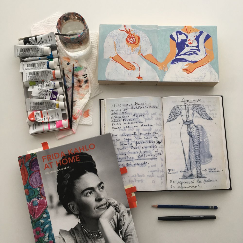 crystal moody | #deadartistssociety Frida Kahlo
