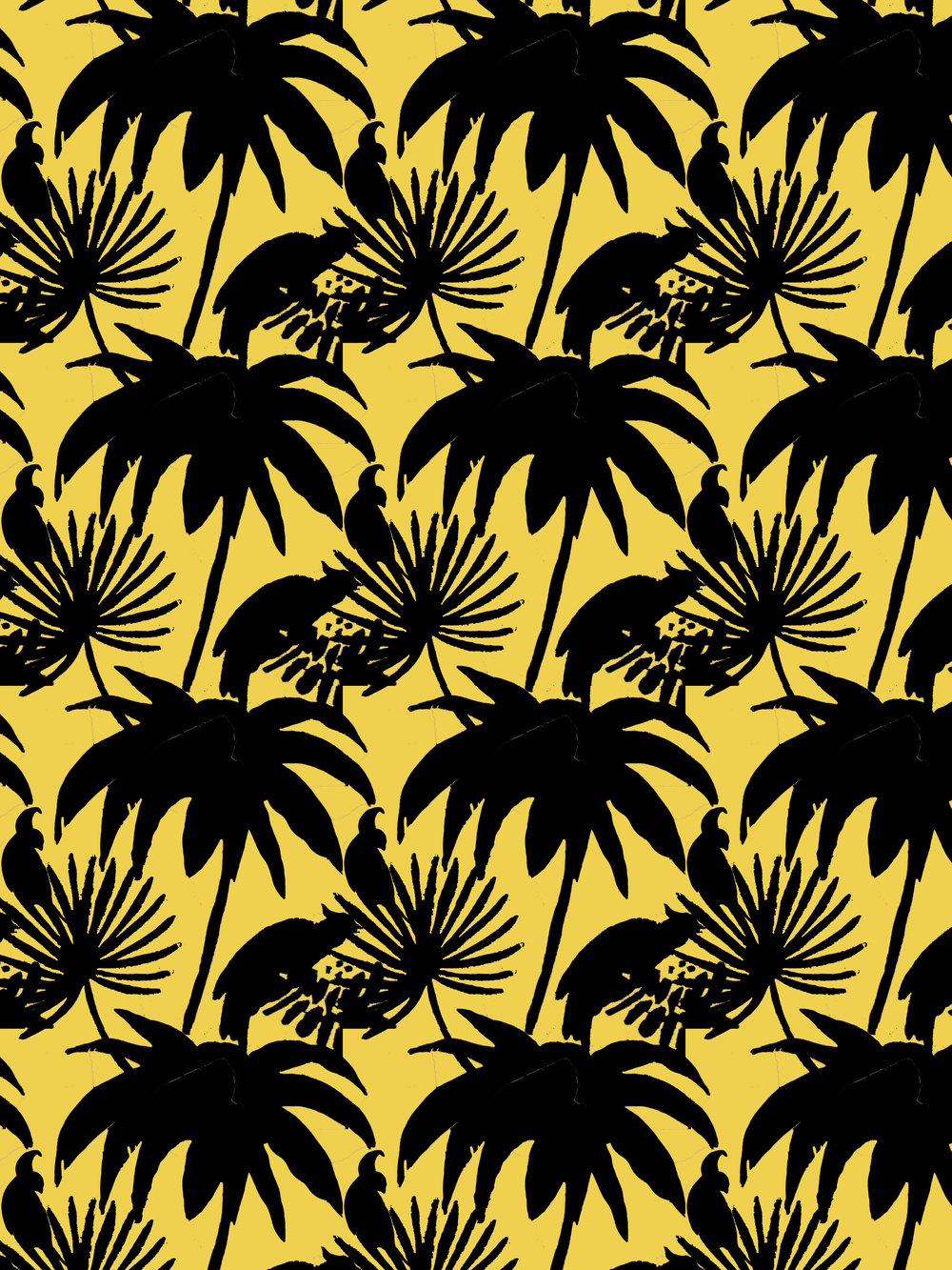 crystal moody | tropical pattern