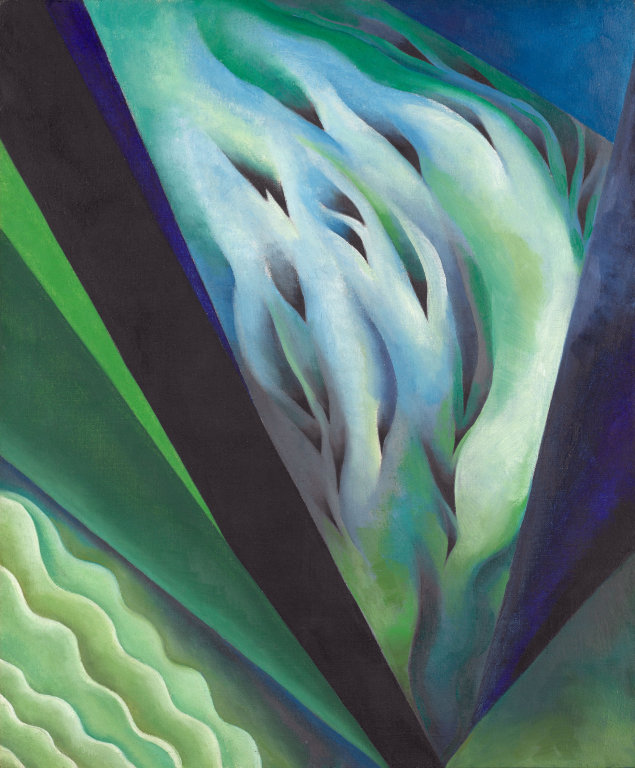 Georgia O'Keeffe |  Blue and Green Music, 1919/21