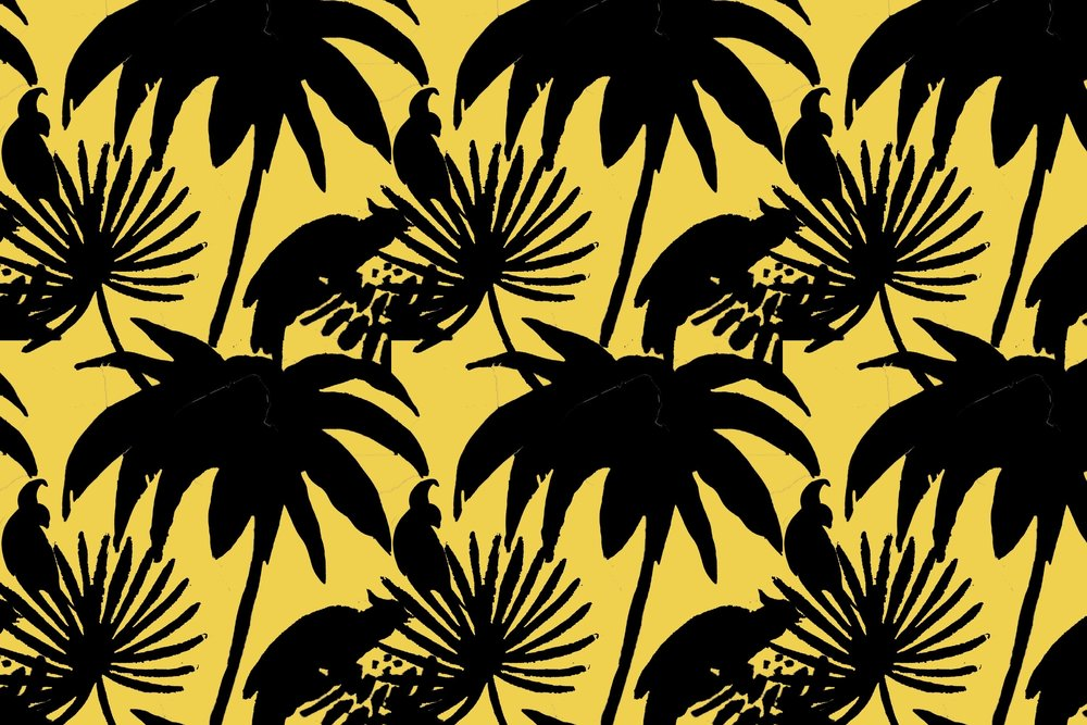 crystal moody | yellow wallpaper