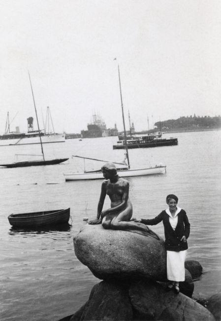 1932, visit to Copenhagen