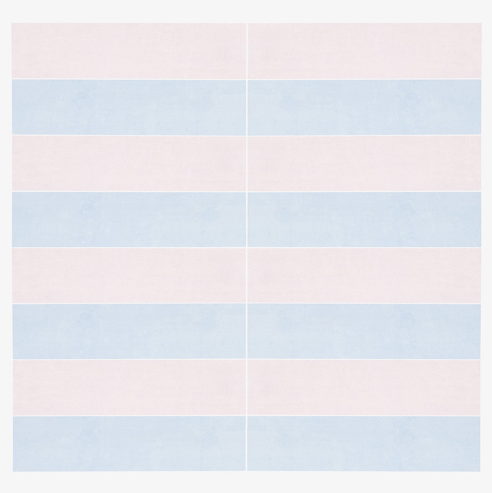 Agnes Martin | Untitled #8, 1974