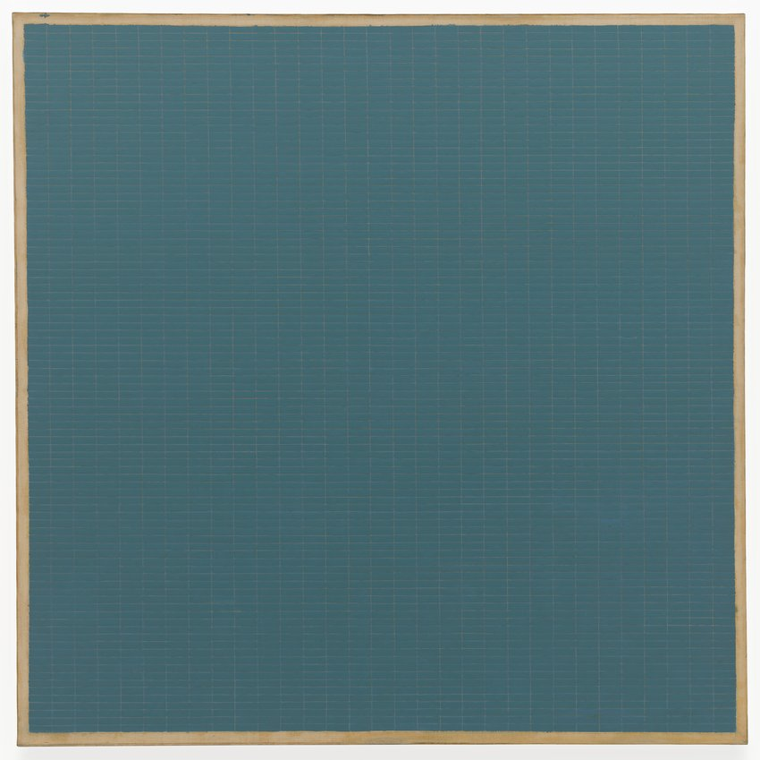 Agnes Martin | Night Sea 1963