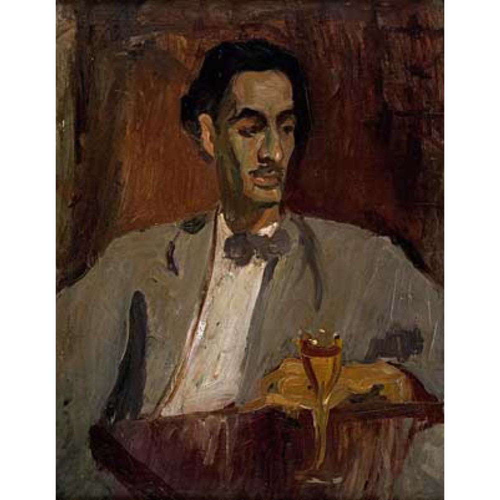 Carlos Enríquez 1926, oil on canvas