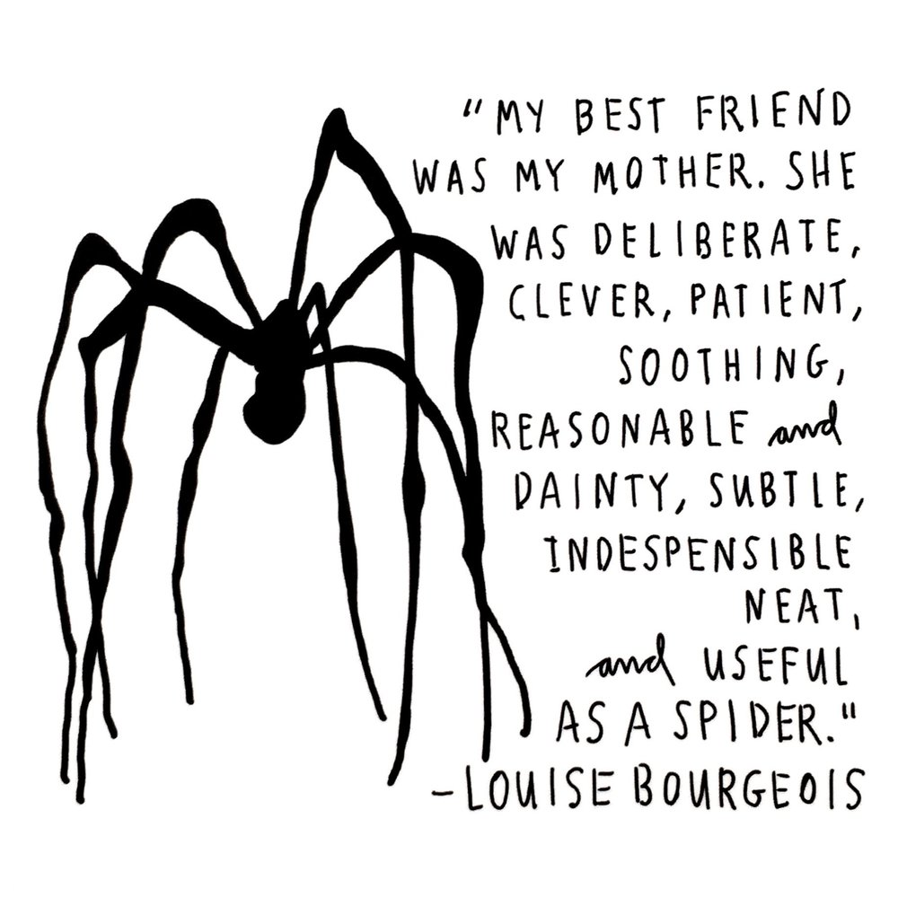 crystal moody | #deadartistsociety Louis Bourgeois