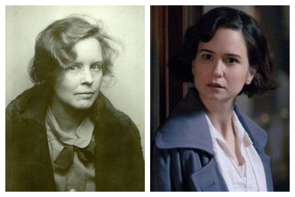 Alice Neel = Tina from Fantastic Beasts