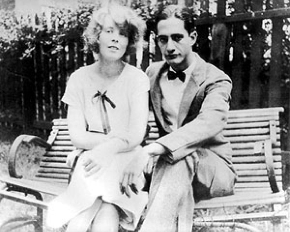 Alice and Carlos at Chester Springs 1924