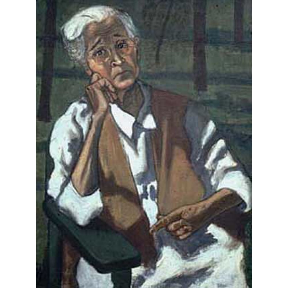My Mother 1946 oil on canvas