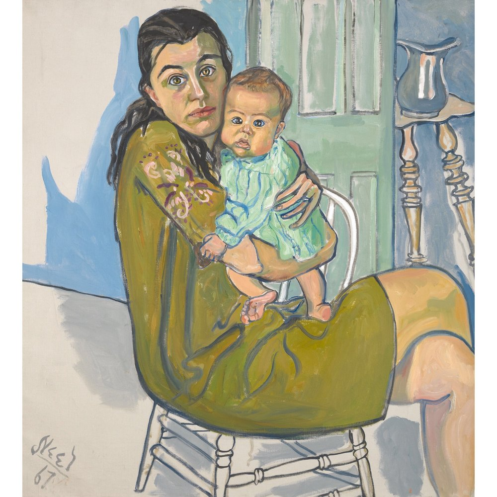 Mother and Child (Nancy and Olivia) 1967