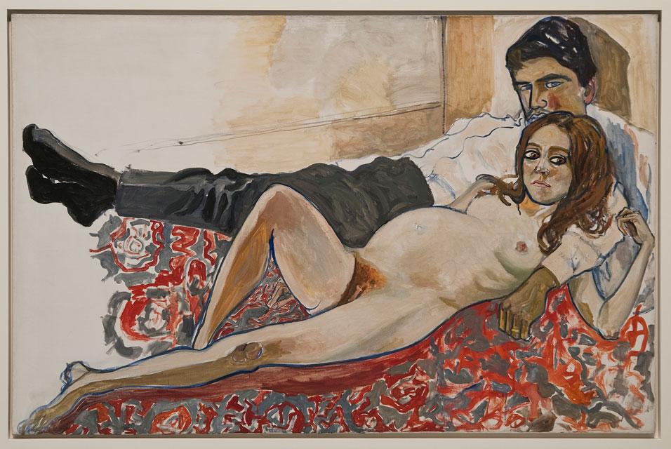 Pregnant Julie and Algis 1967