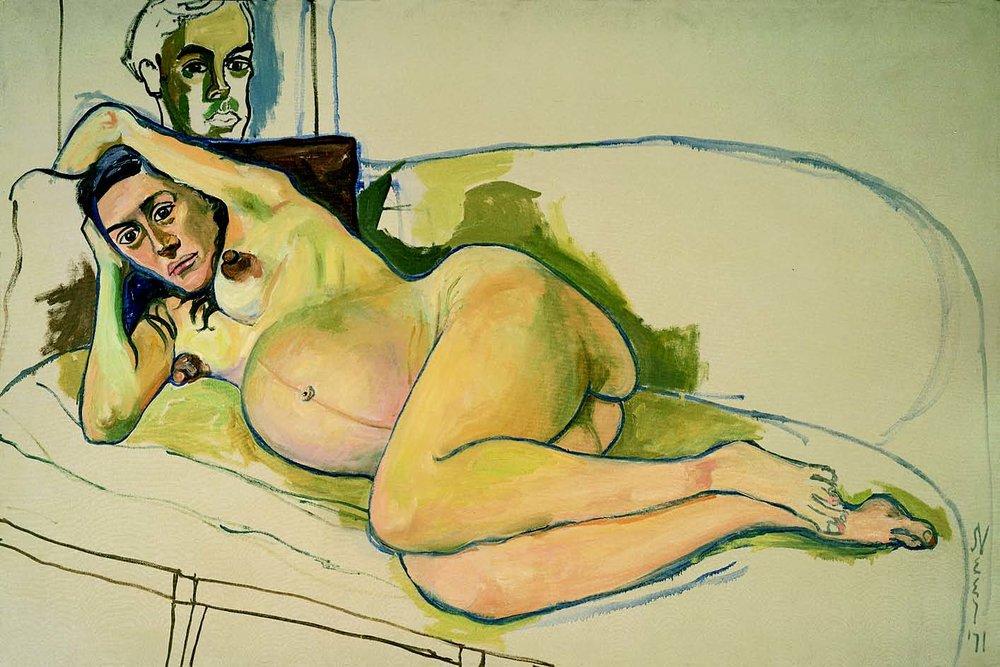 Pregnant Woman, 1971