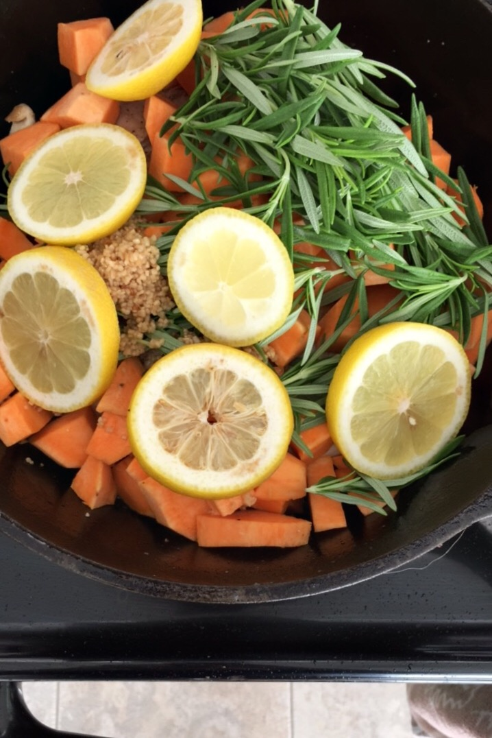 Lemon Rosemary Chicken, one of our very favorite recipes