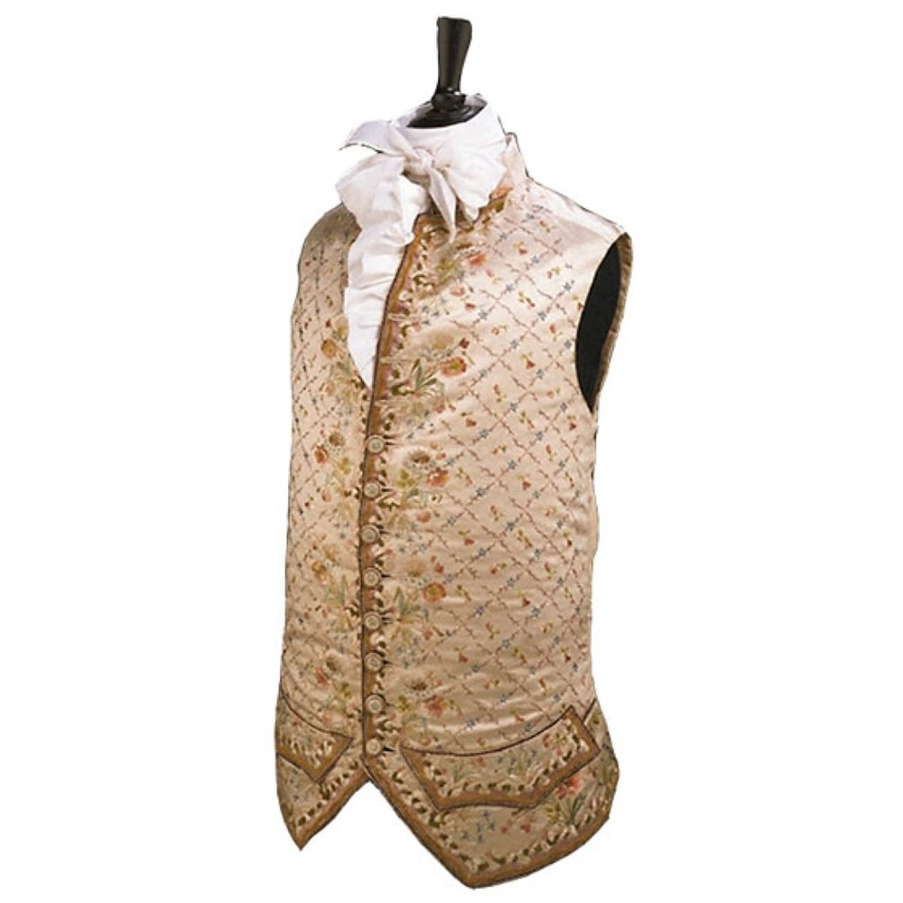 the original waistcoat that inspired the story... Beatrix would often go to museums while in London visiting the Warne office.