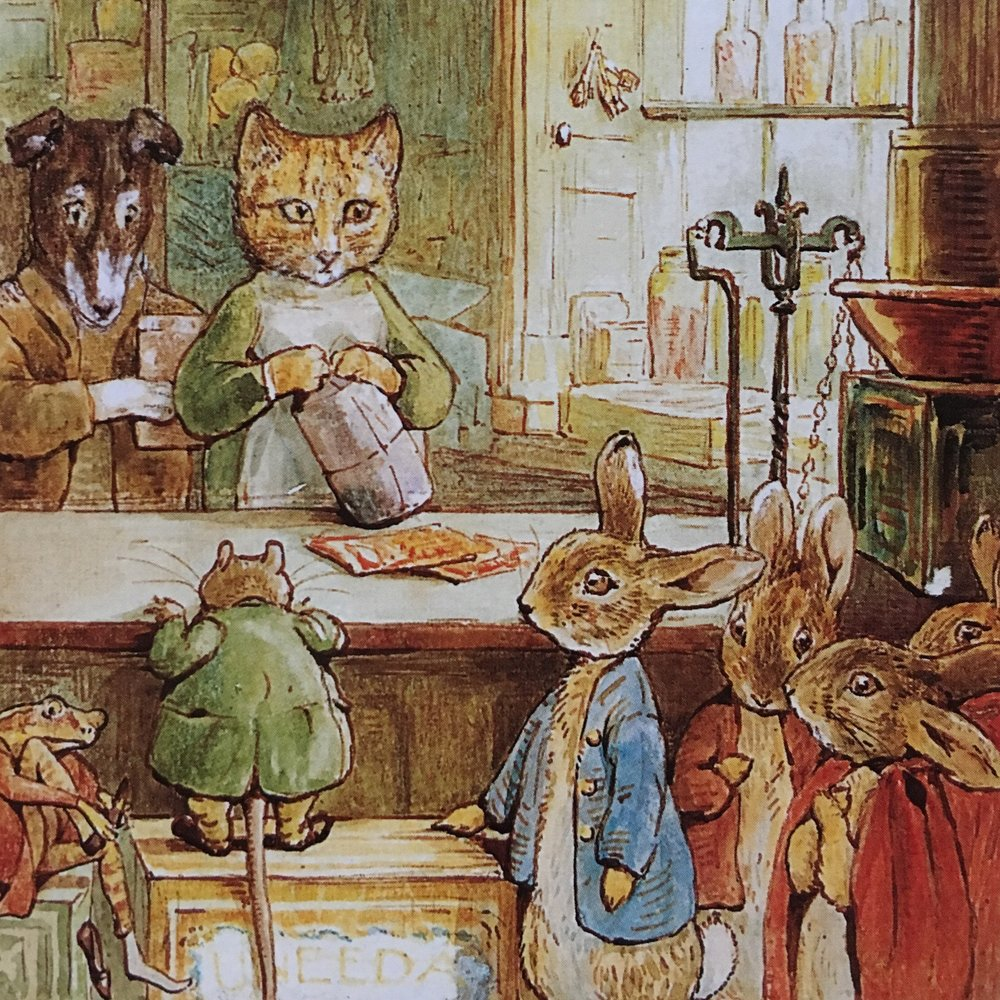 #deadartistsociety Beatrix Potter