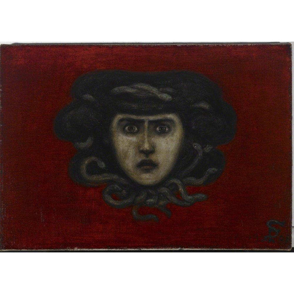 Head of Medusa by Florine Stettheimer