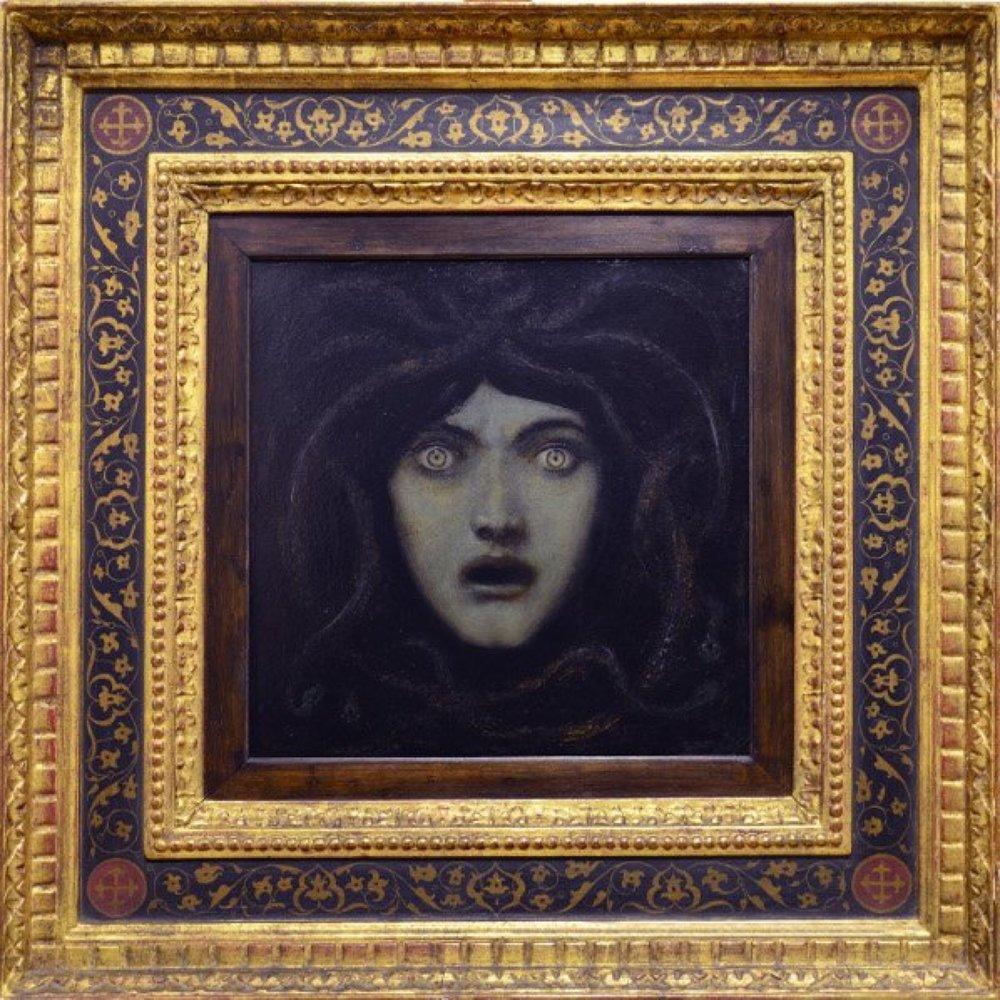 Medusa by Franz von Stuck