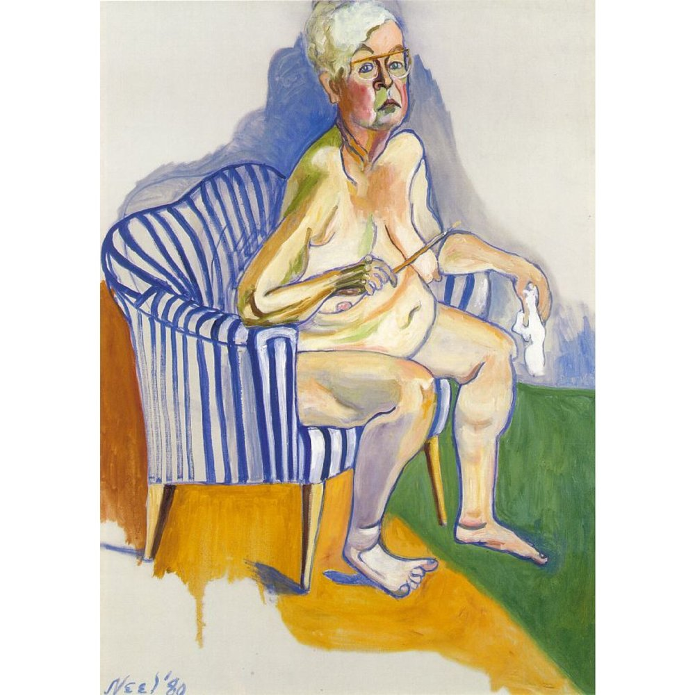 Alice Neel, 1980