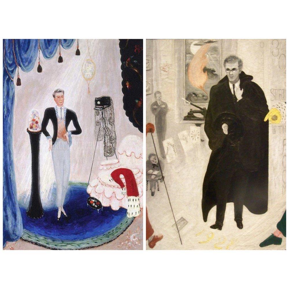 Portrait of My Mother, 1925; Portrait of my Aunt, 1928; Portrait of My Teacher, 1929; Portrait of Our Nurse, 1929; Portrait of Barron De Meyer, 1923; Portrait of Alfred Stieglitz, 1928.