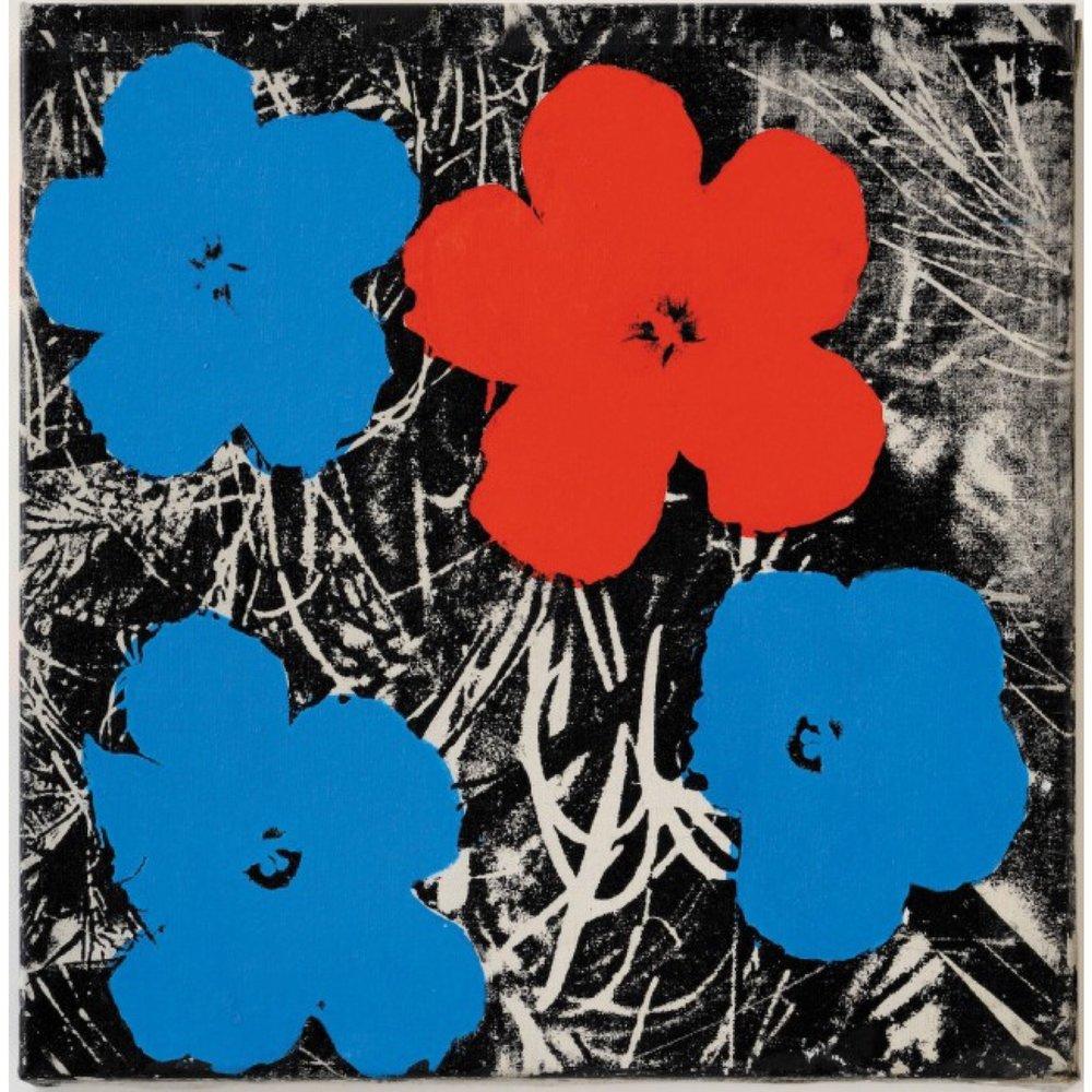 Sturtevant, Warhol Flowers (1965)
