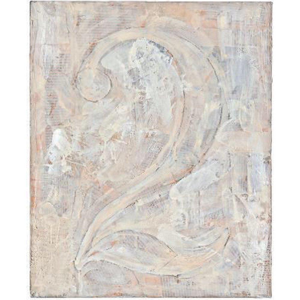 Jasper Johns, Figure 2 (1955)